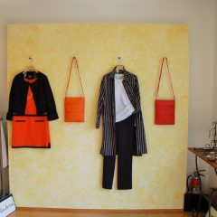 GALLERYを更新しました。展示商品に暖かさ・爽やかさを与えるデザイン例【埼玉県川越市 ブティック「ローザ・ロッサ」】