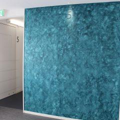 GALLERYを更新しました。塗りムラ・不均一な模様を活かしたデザイン例【日本ペイントホールディングスグループ 技術研究棟】