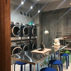 GALLERYを更新しました。【広い空間に落ち着き感を与えるデザイン例 「喫茶ランドリー~」(東京都墨田区)】